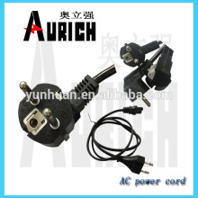 UL 125v Computer hollow power pin plug Cords with cable set