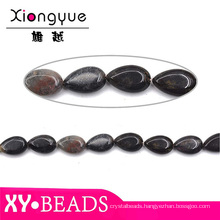 Beautiful Black Beads Wholesale Waterdrop Beads For Jewelry
