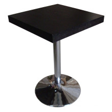 Черный обеденный стол для столовой и гостиничной мебели