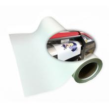 white  bubble free ink jet Eco solvent printable heat transfer vinyl for garments sticker