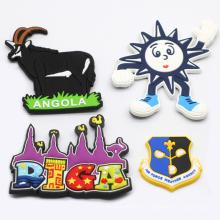 Promotional Souvenir Country Blank Rubber Customized 3D Magnet Fridge Custom PVC Fridge Magnet Custom