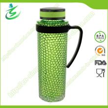 Botella de agua libre de 19oz BPA Free con bola de congelación (FB-A7)