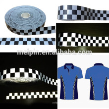 reflective check tape /reflective fabric tape