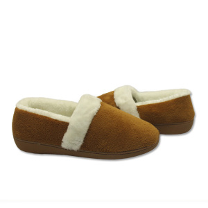 the most comfortable womens moccasin outdoor slippers