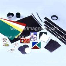 Flexible Magnete und Gummimagnete in verschiedenen Farben