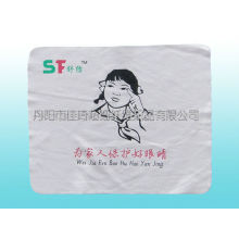 microfiber cleaning cloth with silk screen print