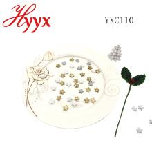 HYYX artesanía decoración estrella de Navidad a la venta / ideas de decoración de mesa de navidad / estrella de Navidad decoración / espuma blanca estrella