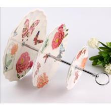 (BC-PM1018) Plaque de desserts en mélamine en céramique réticulable réutilisable de haute qualité