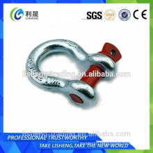 Swivel galvanized screw pin anchor shackle