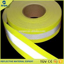 Material ignífugo reflexivo reflectante de la alta visibilidad al por mayor para la ropa ignífuga