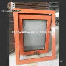 Large glass windows commercial window price awning window with frosted glass