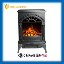 Calentador de sitio pequeño de la chimenea eléctrica protable 110-120V / 60Hz