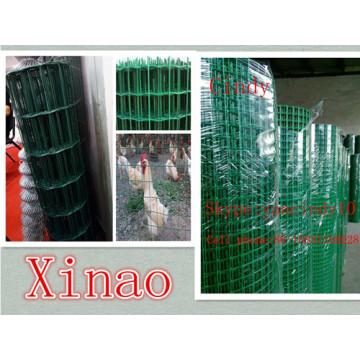 Фабрика Покрынная PVC сваренная Ячеистая сеть/Малла де Сольдадо Аламбр