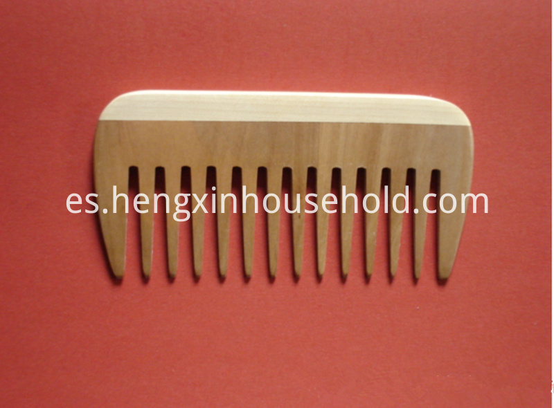 gift antistatic wooden beard comb