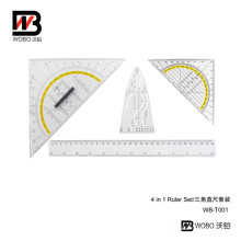 2016 Plastic Ruler School and Office Stationery Set