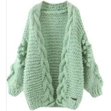 Fashion Cashmere Knitted Long Cardigans