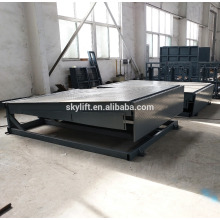 hight-duty steel structure ,static dock ramp