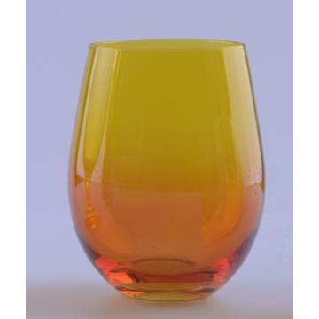 Ombre Glass Stemless Glass en venta