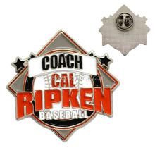 Hot Sale Custom Metal Baseball Souvenir Trading Pins For Business