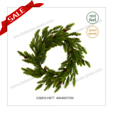 16 Inch Traditional Decoration Artificial Wreath Decoration Christmas