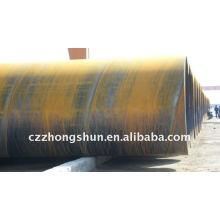 SSAW API 5L Tubo de aço / tubo de aço espiral para óleo e gás