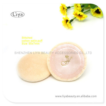 High Absorbing Round Sponge Cosmetic Puff Velet Puff
