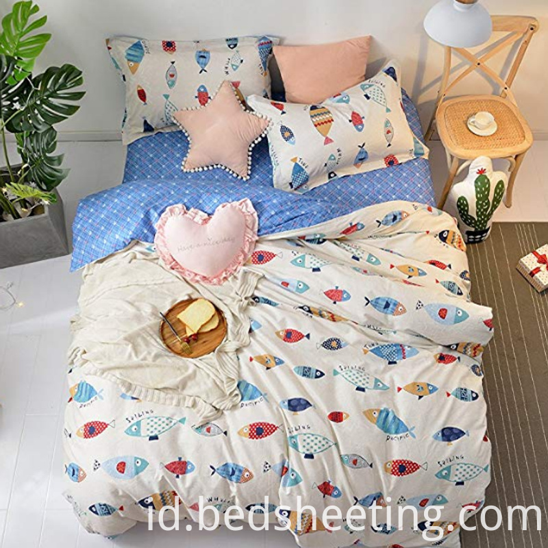 Polycotton Girl S Cartoon Duvet Cover