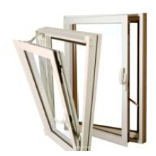 Competitive Price Hung Casement Window Opening Inwards/Aluminium Hung Window