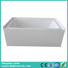 Rectangle Acrylic Bathtub with Skirt (LT-24Q)