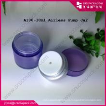 Maquillaje cosmético de la bomba de acrílico Airless Cream Jar