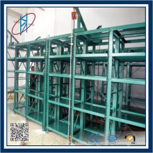 Heavy Duty Wall Drawer Type Mold Rack System With Hoist