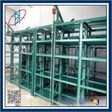 Tipo de gaveta de parede pesada tipo sistema de rack de molde com elevação