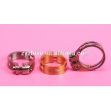 titanium seatpost clamp /bike Seat locked Post Clamp 31.8/34.9mm