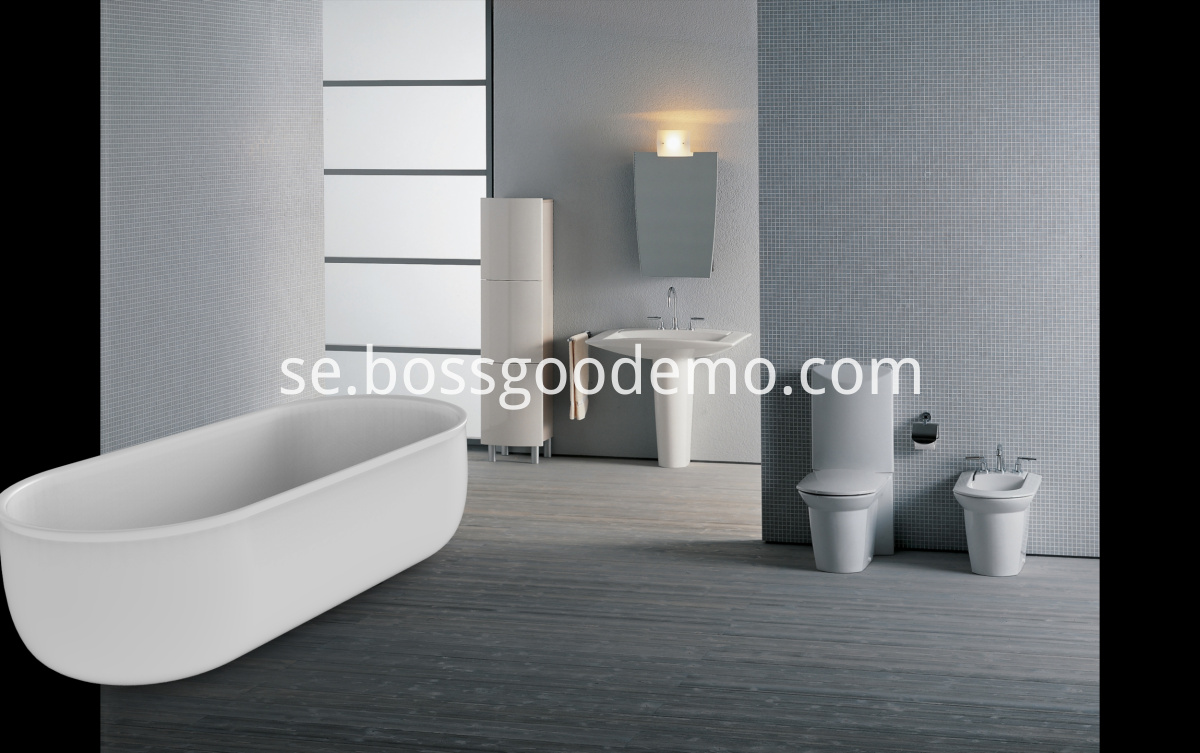 Freestanding bath tub