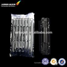 Película de bulm aire transparente bolsa de muestra gratis para el airbag a prueba de choques de toner