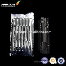 Échantillon gratuit air transparent bulm film sac pour toner airbag antichoc