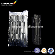 Transparent air bulm film bag free sample for toner shockproof airbag