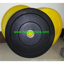 Placa de parachoques de goma natural personalizada