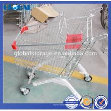 Venta caliente de diseño europeo pequeño Handtruck para la tienda por departamentos / carretilla de supermercado