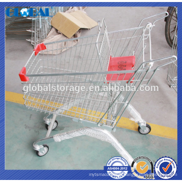 Hot selling European Design Small Handtruck for department store/supermarket trolly