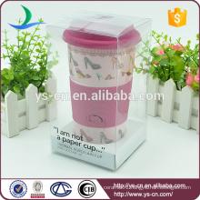 2015 Wholesale Ceramic Large Gift Mug With Lid