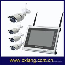 Cctv câmera de segurança ao ar livre sem fio invenções infravermelho câmera WIFI NVR KIT