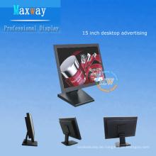 15-Zoll-LCD-Werbung Desktopanzeige