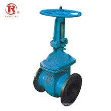 API CE Factory Hot Sale Flange Steel Manual Electric Water Seal  Gate Valve