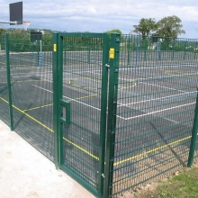 PVC+Coated+Double+Horizontal+Wire+Fence+For+Sale