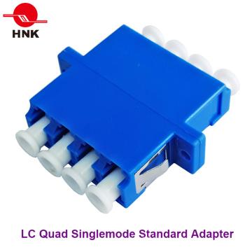 LC Quad Singlemode Standard Plastic Fiber Optic Adapter
