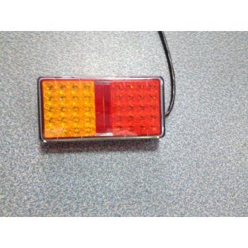 Luz de la cola de la combinación trasera LED certificada E-MARK para el carro y el acoplado