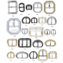 New rectangle shape nickel metal clip buckle for bag