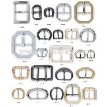Novo retângulo forma níquel metal clipe fivela para saco