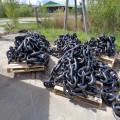 Schwarz lackierte Marine Studless Anchor Chain